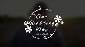 Wedding Title Wedding Title V4 After Effects Templates Motion Array