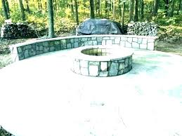 diy stone patio flagstone patio with fire pit flagstone patio fire pit with seating wall stone