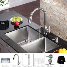 Kitchen Faucet Soap Dispenser Design10001000 Kitchen Faucet With Sprayer And Soap Dispenser