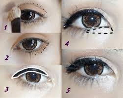 eyes make up and tutorial image