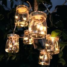 glass jar lights clear glass jar light decor w 3 led lights set of 6 glass glass jar