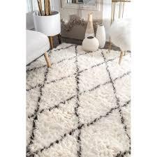 home ideas willpower nuloom rug nuloom handmade moroccan trellis wool area 4 x 6
