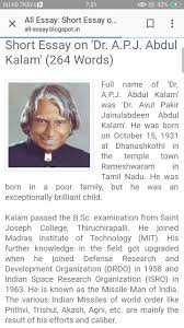 write a paragraph on a p j abdul kalam words in  jpg