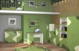 Impressive Green Teenage Girl Bedroom Decorating Trend