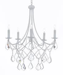 j10 white b12 403 5 gallery wrought iron empress crystal tm wrought iron chandelier chandeliers lighting h 22 5 x w 26