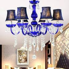 blue chandelier shades simple waterproof outdoor wall sconce painting glass shade boutique 6 light fabric shade blue chandelier crystals navy blue
