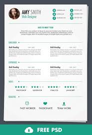 Free Resume Print And Download Free Psd Print Ready Resume Template Cv Resume Design