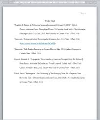 How Do You Do A Works Cited Page Formatting A Works Cited Page Katies Library