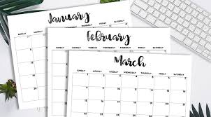 Free 2020 Monthly Calendar Template 2020 Calendar Printable Free Template Lovely Planner