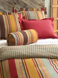 texture color and graphic vertical stripes all in one durable cotton duvet cover reverses to dash stripe find this pin and more on pine cone hill