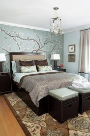 Interesting Picture Of Blue And Cream Bedroom Design And Decoration : Epic  Picture