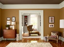 Orange Living Room Ideas - Warm Orange Living Room - Paint Color ...