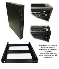 Slimline Wall Cabinet 2u 19 Inch Slimline Network Switch Cabinets 600mm Deep And Wall