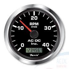 programmable tachometer digital hourmeter 4000 rpm ac dc tachometer hourmeterblack copy