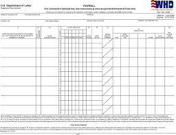 Certified Payroll Template Free Template Download Customize And Print