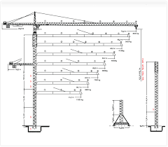 Tower Crane Lifting Capacity Chart Stephan Trading Contracting W L L