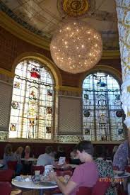 v a victoria and albert museum stained glass windows in room