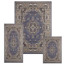 creative home area rugs ariana rug 7069 country blue traditional rugs area rugs by style free at powererusa com