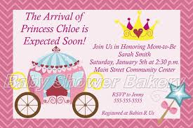 Princess Invitations Free Template Magnificent Free Printable Baby Shower Invites Free Printable