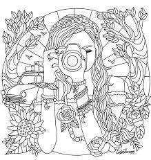 Select print at the top of the page, and the advertising and navigation at the top of the page will be ignored, or. Free Color Page Summer Journey Camera Journaling Detailed Coloring Pages Coloring Pages For Teenagers Cute Coloring Pages