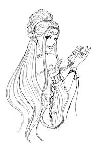 Greek Goddess Hera Coloring Pages