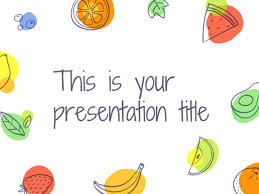 google powerpoint background. Beautiful Background Free Playful Template For Powerpoint Or Google Slides With Illustrated  Fruits With Background M