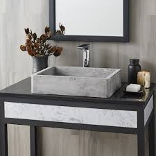 bathroom sink. Nipomo Ash Vessel Bathroom Sink