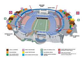 popular  list kauffman stadium map