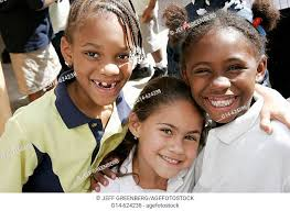 Florida, Miami, Liberty City, Lenora Smith Elementary School, Black  students, Hispanic girl, friend, Stock Photo, Picture And Rights Managed  Image. Pic. G14-624238 | agefotostock