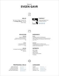 Cómo Descargar 45 Free Modern Resume Cv Templates Minimalist