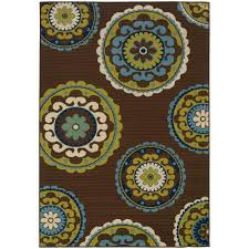 home decorators collection cabana brown 2 ft 5 in x 4 ft 5 in