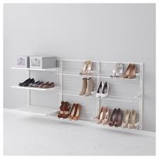 Shoe Organizer On Wall Decorating Enchanting Wall Mounted Shoe Rack Cabinet In 3 Rack