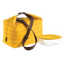 <b>Набор термосумка</b>+<b>контейнер</b> Handy <b>большой</b> жёлтый от ...
