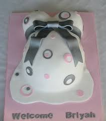 Pink Baby Bump Cake Celebration Cakes Cakeology