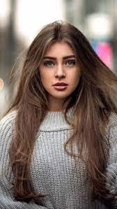 hair, brunette, beautiful, girl, iphone ...