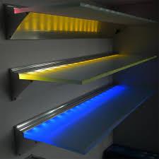 shelf lighting led. 600/900/1200 Mm Led Glass Shelf Light For Showcase,Bookshelf,Wine Cabinet 3w Dc12v - Buy Light,Battery Shelf,Glass Shelves Lighting N