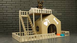 How to Make Amazing Puppy Dog House from Cardboard. The Q