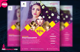 Free Flyer Template Download Free Photography Flyer Template Freedownloadpsd Com