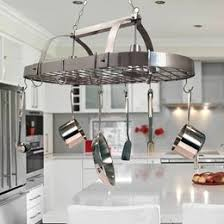Ceiling Fans. Outdoor Hanging Lights. Lighted Hanging Pot Racks