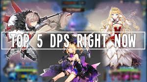 Crusaders Of Light Best Dps Top 5 Mobile Rpg Games 2017 Yes Auto Play Is Available By