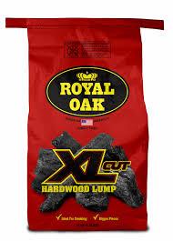 Lighting Royal Oak Charcoal Royal Oak Xl Cut Hardwood Lump Charcoal All Natural Charcoal 16 Lbs Walmart Com
