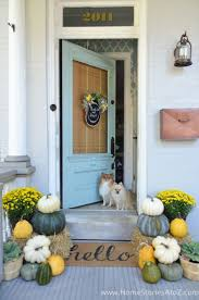 Fall Porch Decorating Best 214 Front Porches Images On Pinterest Home Decor