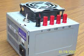 converting a pc power supply desktop power supply from a pc