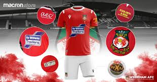 Logos relacionadas com wrexham afc. Wrexham Afc 2019 20 Macron Home Kit 19 20 Kits Football Shirt Blog