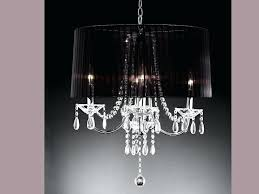 crystal drop chandelier table lamp