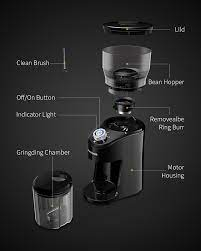 Gets the job done but i can definitely improve on getting a better grinder. Shardor Coffee Grinder