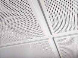 Metal ceiling tiles AMF MONDENA System C By Knauf Amf