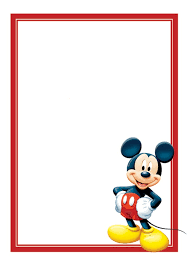 Mickey Mouse Baby Shower Invitatio Unique Mickey Mouse Templates For