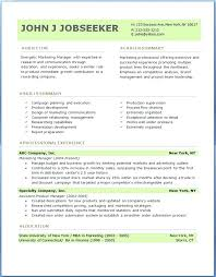 Best Resume Format Free Experience Resume Format Download Barb Experience Resume Format