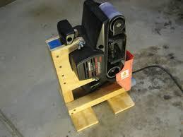 table belt sander. introduction: belt sander stand table -